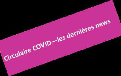 Circulaire n°34 – CORONAVIRUS – last news